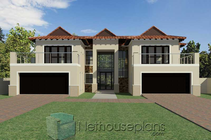 5-Bedroom-Double-Storey-House-Plan-South-Africa_BA487D ...